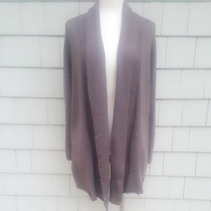 Eileen Fisher Textured Drape Cardigan